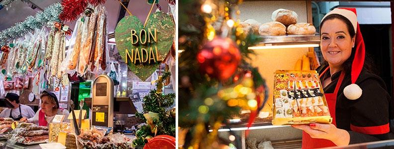 Productes nadalencs de mercat: el menú de Nadal